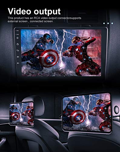 CAMECHO-Double-Din-Android-Car-Stereo-with-Bluetooth-Touchscreen-101-inch-Car-Radio-with-Split-Screen-Support-FMUSBGPS-NavigationWiFi-ConnectedMirror-Link-for-iOSAndroid-Phone-Backup-Camera