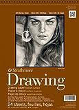 Strathmore (400-3) STR-400-3 24 Sheet No.80 Drawing Pad, 8 by 10', 8'x10',