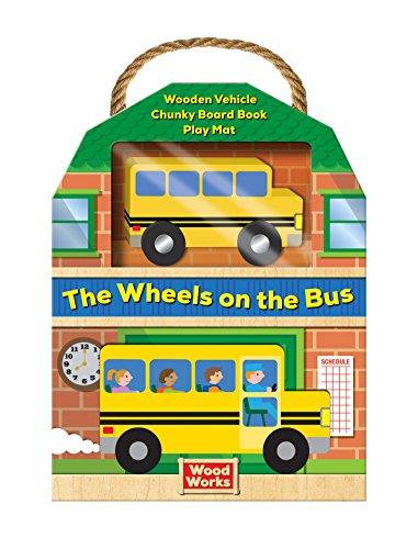 [24iz0.Ebook] Woodworks Nursery Rhymes: Wheels on the Bus by Silver Dolphin Books RAR