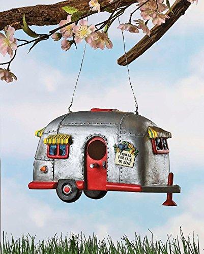Camper-Birdhouse-Trailer-Bird-House-Airstream-style-Rv-Home-Decor-Yard-Garden-Porch-Patio-Country