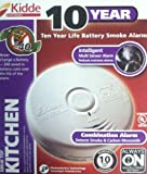 Kidde P3010-K-CO Battery-Operated Combination Carbon Monoxide and Smoke Alarm with Photoelectric Sensor 'New Modal' (2 Pack)
