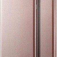 Microsonic Samsung Galaxy A50 Kılıf Ultra Slim Leather Design Flip Cover Rose Gold 14