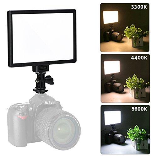 VILTROX L116T Bi-color video led light, 3300K-5600K on camera LED light