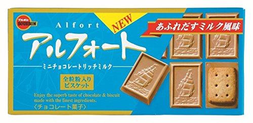 ブルボン アルフォートミニチョコレートリッチミルク 12個入×10箱