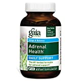 Gaia Herbs Adrenal Health Daily Support Liquid Phyto-Caps, 120 Count