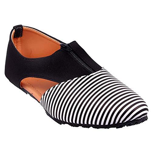 Honey Step Women's Modern Style Synthetic Flat Sandal Shoe for Women & Girls