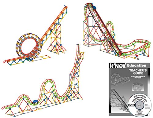 K'NEX Education – Roller Coaster Physics Set – 2,058 Pieces –  Ages 16+ Engineering Educational Toy