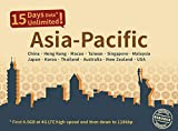 Asia Pacific 15 Days Unlimited Prepaid Data SIM Card, Japan, China, Hongkong, US, Australia, New Zealand, Macao, Taiwan, Singapore, Malaysia, Korea, Thailand