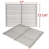 SHINESTAR Upgrade Version Grill Grates for Nexgrill 720-0830H, 17-inch Stainless Steel Cooking Grates Replacement Parts, 2 Pack