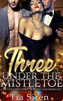 Three under the Mistletoe: A Billionaire Christmas Menage Romance by [Siren, Tia]