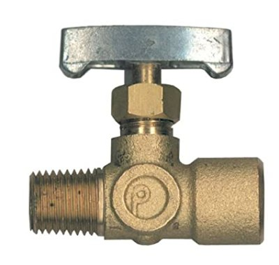Brass Control Valve / Knurled Needle Valve