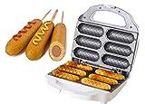 J-JATI Waffel Corn Hot Dog Presser Maker SW230-W6 Waffel Stick Maker