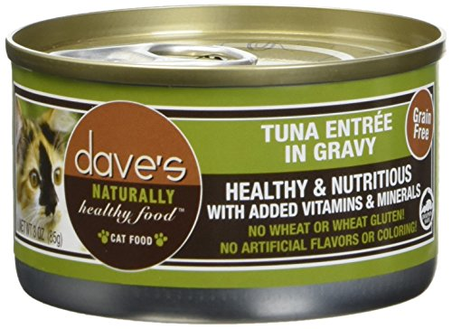 Dave's Pet Food Tuna Entrée Food (24 Cans Per Case) 1