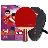 DHS 4-Star 4006 Pen Hold Premium Table Tennis Racket Ping Pong Paddle Blade Inverted Rubber