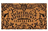 Ouija Board Doormat, Outdoor (Brown, 17 x 30 Inches)