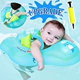 Camlinbo 【Upgrade】 Baby Swimming Float Ring - Baby Spring Floats Swim Trainer Newborn Baby Kid Toddler Age 3-48 Month 11-48 Lbs Summer Outdoor Beach Water Bath Toy Swimming Pool Accessories