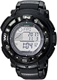 Casio Men's 'PRO TREK' Quartz Resin Sport Watch, Color:Black (Model: PRW2500-1A)