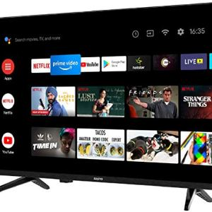 Sanyo 123 cm (49 inches) Kaizen Series 4K Ultra HD Smart Certified Android IPS LED TV XT-49A082U (Black) (2019 Model)