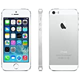 Apple iPhone 5S, GSM Unlocked, 16GB - Silver (Renewed)