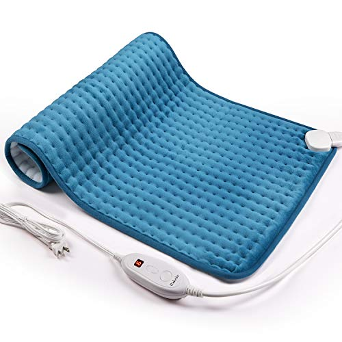 iTeknic Heating Pad for Back Pain and Cramps Relief -Extra Large [17'x33'], Auto Shut Off...