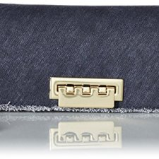 51XACbD2vnL Weave handle with large o-ring as accent 9k gold finish hardware Rfid card slot