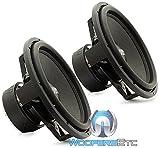 Pair Sundown Audio SA-15 V.3 D4 15' 1500 Watts Dual 4-Ohm SA Series Subwoofers Pair