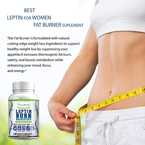 Leptin Detox + Leptin Burn Combo - Vegan - Leptin Supplements for Weight Loss for Women - Leptin Resistance Supplements - All Natural Safe and Effective - Non-GMO - 1 Month 4