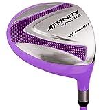 AFFINITY Golf Xplode 3 Fairway Wood, Purple, Right Hand, Graphite, Women's Flex, 15-Degree
