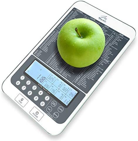 Mackie Food Scale, Digital Kitchen Scale Nutrition Portions Easy Automatic Calorie and Macro Nutrition Calculator an American Co.… 1