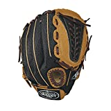 Louisville Slugger 12-Inch FG Genesis Baseball Infielders Gloves, Brown, Right Hand Throw