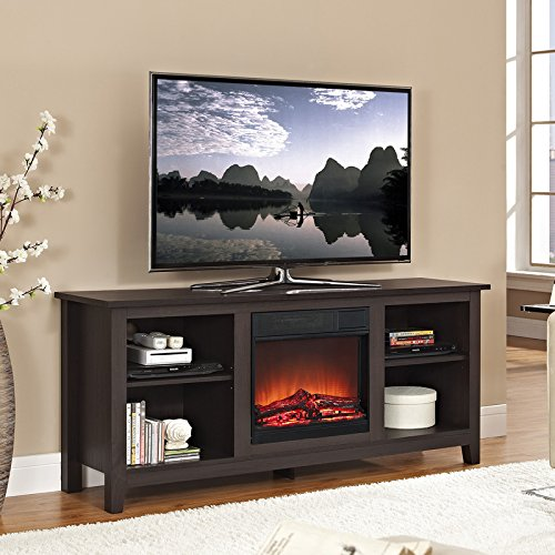 Entertainment Stand With Electric Fireplace