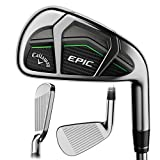 Callaway 2017 Epic Iron Sets, 4-PW,AW, Steel, 6.0...
