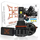 HIKARI Ultra LED Headlight Bulbs Conversion Kit -9007/HB5, Prime LED 12000lm 6K Cool White,2 Yr Warranty