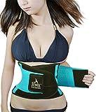 Jenx Fitness Unisex Waist Trimmer, Turquoise,  Medium