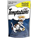 TEMPTATIONS Functional Treats for Cats Hairball Control Chicken Flavor 2.1 Ounces (Pack of 12)