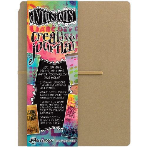 Ranger Dylusions Dyan Reaveley's Creative Journal, 11.375 by 8.25-Inch
