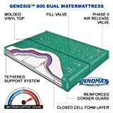 Product review for InnoMax Genesis Dual 800 Ultra Waveless Lumbar Support Waterbed Mattress, King