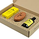 Seven Potions Beard Grooming Set Woodland Harmony. Beard Oil, Beard Shampoo and Beard Brush Make For the Ultimate Beard Care Kit and Great As A Beard Gift Set