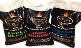 Lumber Jack LJACK-Mix 60 Pounds Pellet Assortment (Pick 3 x 20 Pound Bags), Brown