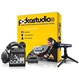 Behringer PODCASTUDIO USB Complete Podcastudio Bundle with USB/Audio Interface
