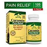 Terry Naturally Curamin (2 Pack) - 120 Vegan Capsules - Non-Addictive Pain Relief Supplement with Curcumin from Turmeric, Boswellia & DLPA - Non-GMO, Gluten-Free - 80 Total Servings