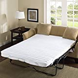 Madison Park Essentials Frisco Fine microfiber sofa bed cover waterproof mattress protector 60x72 white