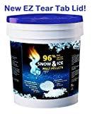 96% Pure Calcium Chloride SNOW & ICE Melt Pellets - 25 lb