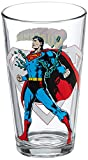 Toon TumblerTM: SUPERMAN (DC) 16 Ounce pint glass