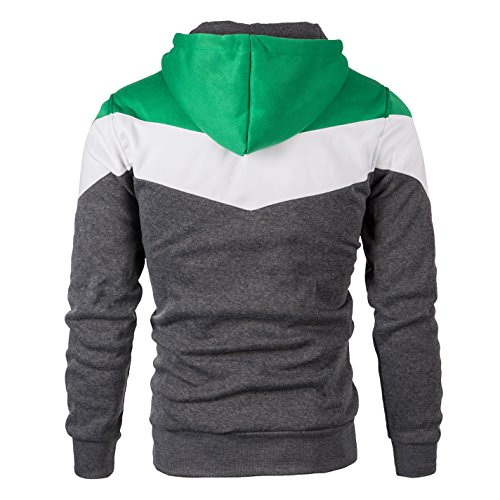 Mooncolour Mens Novelty Color Block Hoodies Cozy Sport Outwear 16 Fashion Online Shop gifts for her gifts for him womens full figure