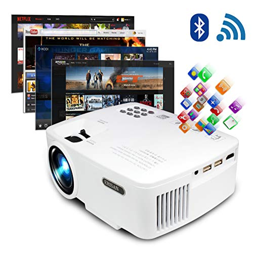 ERISAN Projector Video Home TV Theater,...
