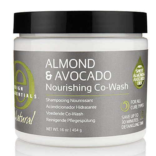 Design Essentials Natural Almond & Avocado Nourishing Co-Wash Shampooing Nourishment For All Curl Types - 16 Oz