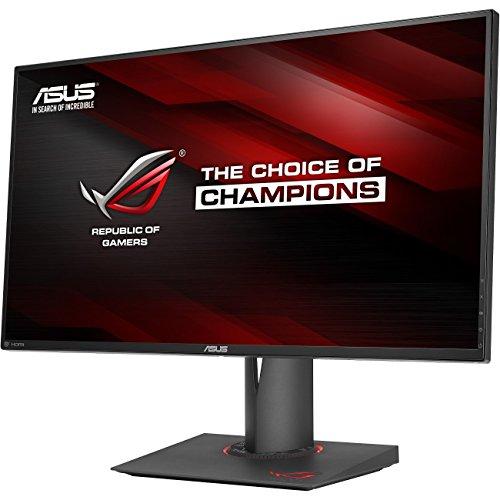 ASUS ROG PG279Q 27' WQHD 1440p IPS 165Hz DisplayPort Adjustable Ergonomic EyeCare G-SYNC Gaming Monitor