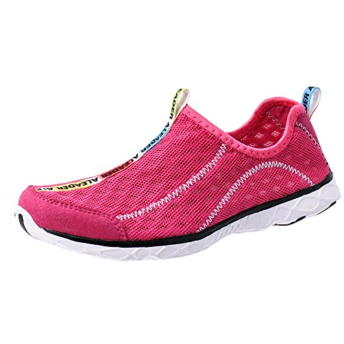 ALEADER Women's Mesh Slip On Water Shoes