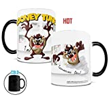 Morphing Mugs Looney Tunes Tazmanian Devil (Taz) Ceramic Mug, Black